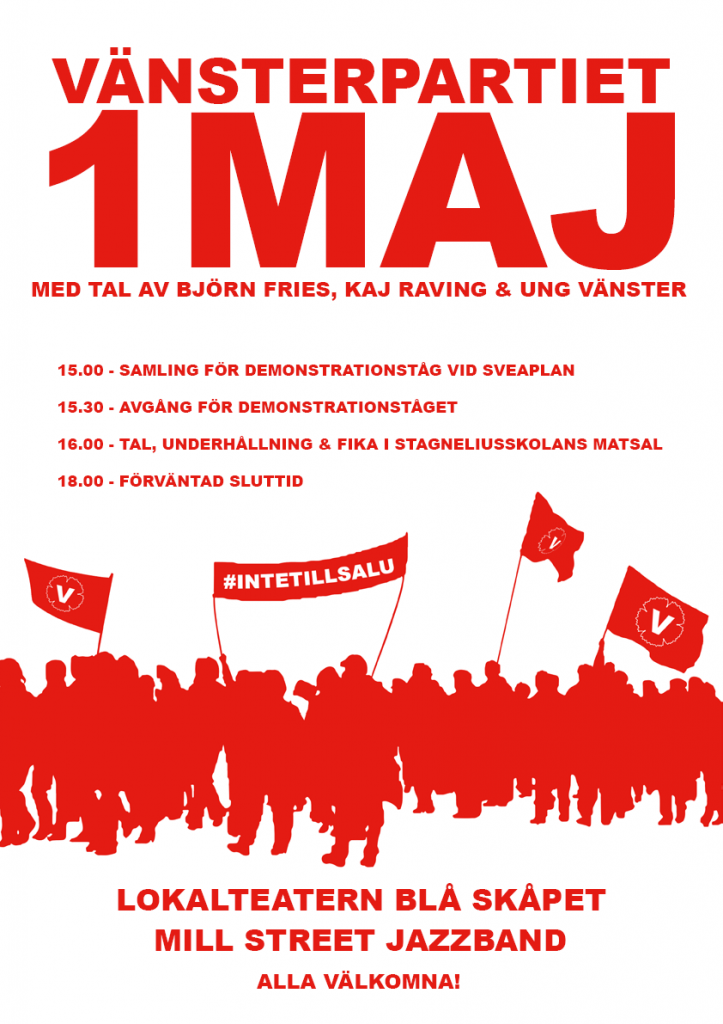 1 Maj i Kalmar 2014